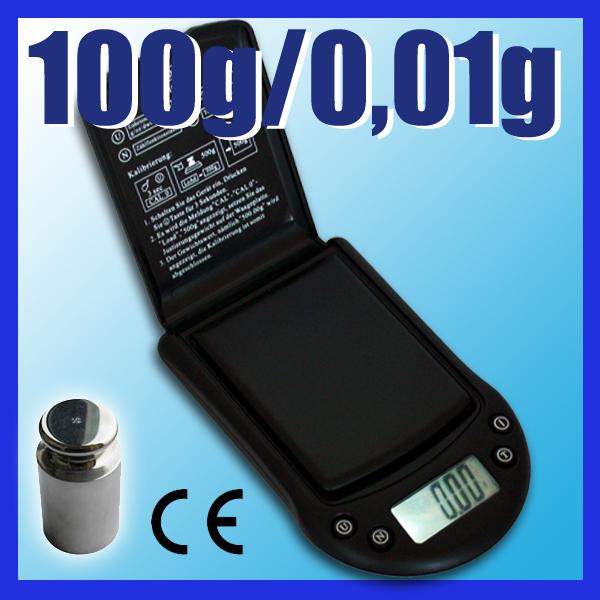 100g-0-01g-Feinwaage-Taschenwaage-Digital-Waage-PT100AG