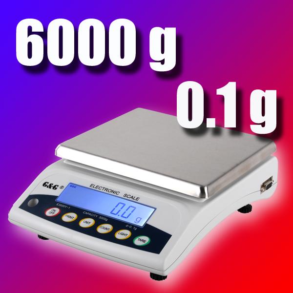 0,5g Digitalwaage Küchen Waage digital scale 0,5 JScale CJ4000 Küchenwaage 4kg